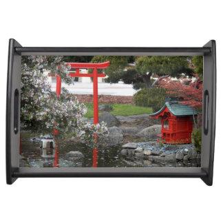 Bandeja Jardim do japonês do primavera
