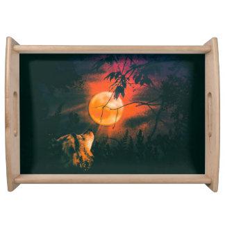 Bandeja Lobo e a lua do hidromel
