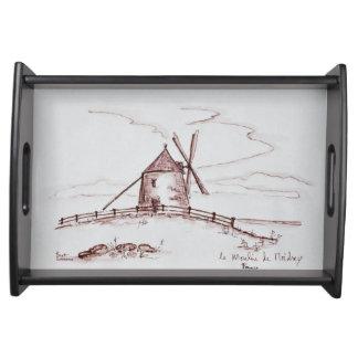 Bandeja Moinho de vento | Pontorson de Le Moulin de