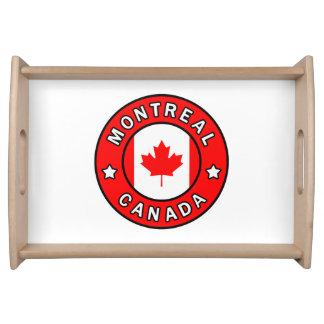 Bandeja Montreal Canadá