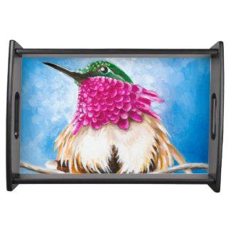 Bandeja O colibri da costela
