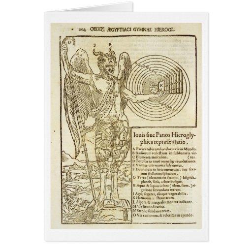 Bandeja, o deus universal, e os elementos ele repr cartões