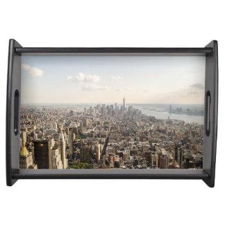 Bandeja Opinião aérea de Manhattan New York