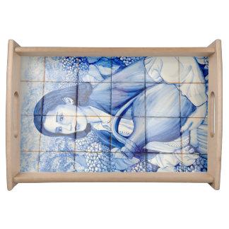 Bandeja Pintura mural de Azulejo