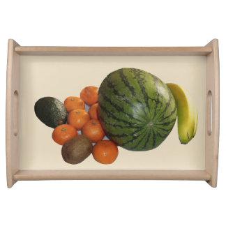 Bandeja Placa da fruta
