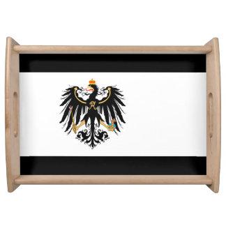 Bandeja Reino Preussen estandarte de nacional