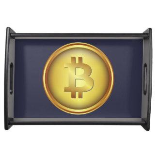Bandeja Revolução cripto de Bitcoin
