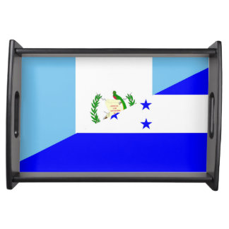 Bandeja símbolo da bandeira de guatemala honduras meio