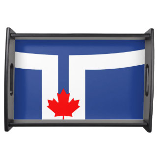 Bandeja Símbolo de Canadá da bandeira da cidade de Toronto