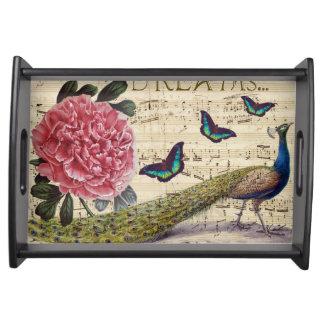 Bandeja Sonhos do pavão