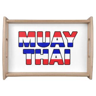 Bandeja Tailandês de Muay