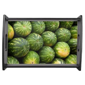 Bandeja Teste padrão da fruta do melão
