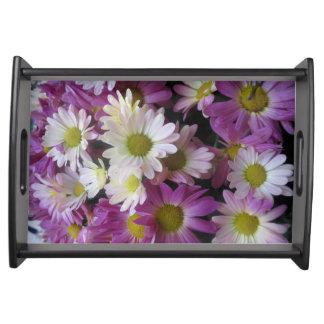 Bandeja Teste padrão de flor de NavinJoshi da coleção de