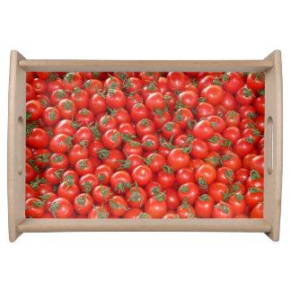 Bandeja Tomates vermelhos da videira