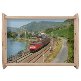 Bandeja Trem de carga em Lorch à reno