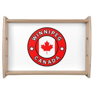 Bandeja Winnipeg Canadá