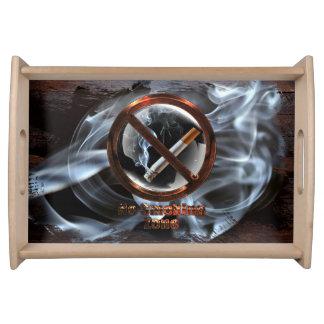 Bandeja Zona não fumadores