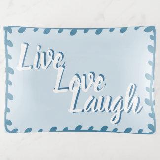 Bandejas Bandeja do Trinket do riso vivo do amor grande
