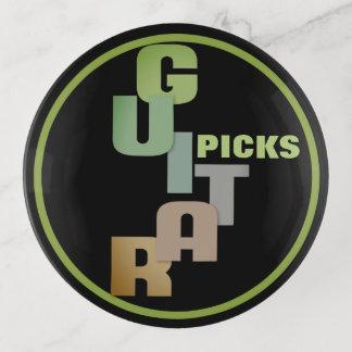 Bandejas Coleção da picareta da GUITARRA