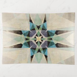 Bandejas Estrela afligida do persa da aguarela de