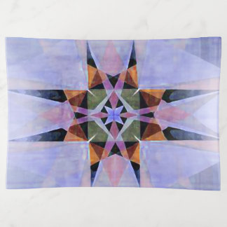 Bandejas Estrela persa afligida 2 da aguarela de