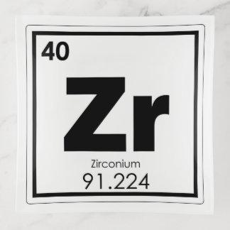 Bandejas Formul da química do símbolo do elemento químico