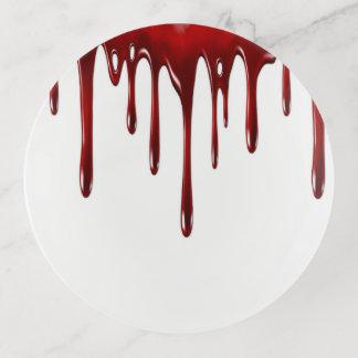 Bandejas Gotejamentos do sangue de Falln