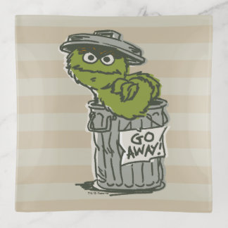 Bandejas Oscar o vintage do Grouch