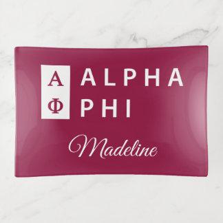 Bandejas Phi alfa   empilhado
