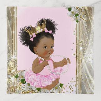 Bandejas Princesa Trinket Bandeja do bebé