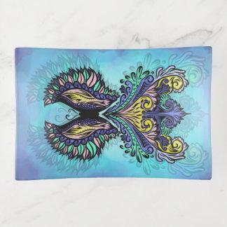Bandejas Renascido - escuro, boémio, espiritualidade