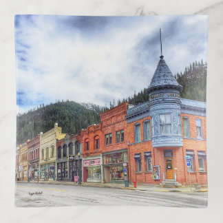 Bandejas Rua Wallace Idaho do banco