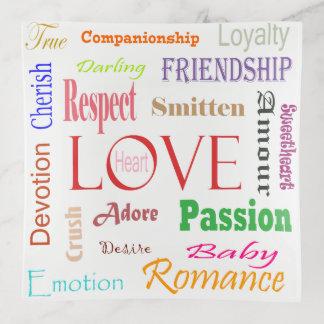 Bandejas Sinónimos do amor por Shirley Taylor