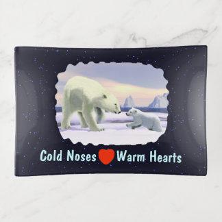 Bandejas Urso polar - Mama Nariz Melhor