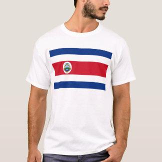 Bandera de Costa Rica - bandeira de Costa Rica Camiseta