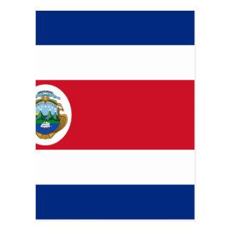 Bandera de Costa Rica - bandeira de Costa Rica Cartão Postal