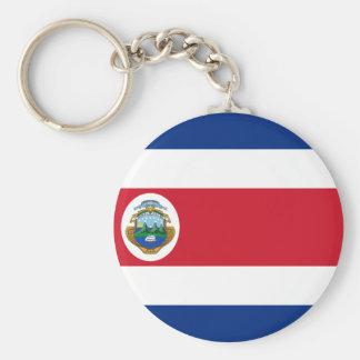 Bandera de Costa Rica - bandeira de Costa Rica Chaveiro