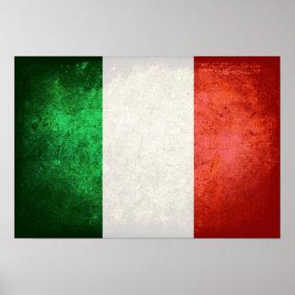 bandiera Italia Poster