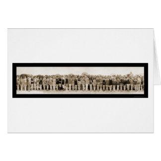 Banhando a foto 1925 da representação histórica de cartao