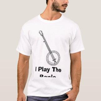 BANJO, eu jogo o banjo Camiseta