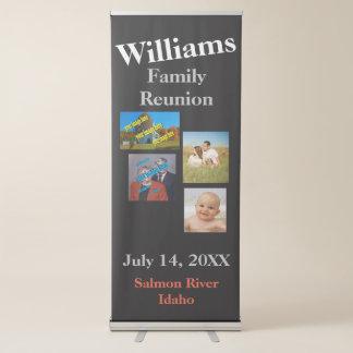 Banner Retrátil A reunião de família cria seus próprios