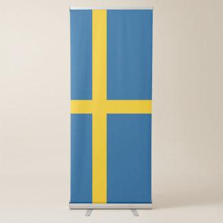 Banner Retrátil Bandeira da suecia