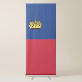 Banner Retrátil Bandeira de Liechtenstein