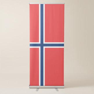 Banner Retrátil Bandeira de Noruega