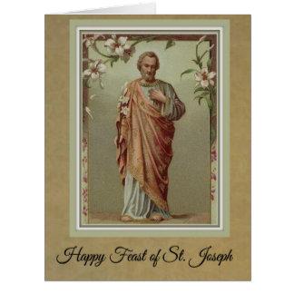 Banquete da oração do cartão w/Memorare de St