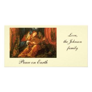 Banquete das festões do rosa, anjo Albrecht Durer Cartão Com Foto