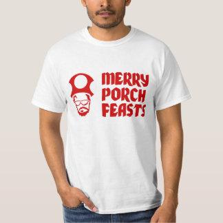 Banquetes alegres do patamar camiseta