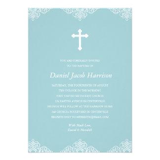 Baptismo/batismo dos meninos azuis convite