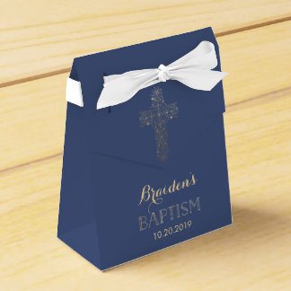Baptismo, caixa do favor do batismo - cruz do ouro caixinha de lembrancinhas para festas