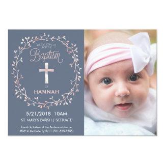 Baptismo, convite da foto do batismo - bebé